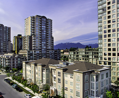 IMAGE: Collingwood Village by Concert Properties in Vancouver. (Courtesy Concert)