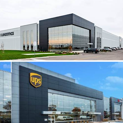 IMAGE: Two Fiera Real Estate funds have acquired a portfolio of five industrial buildings in Brantford, just west of the Greater Toronto Area. (Courtesy Fiera Real Estate)