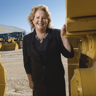 IMAGE: Diane Gray, president and CEO of CentrePort Canada Inc. (Courtesy CentrePort)