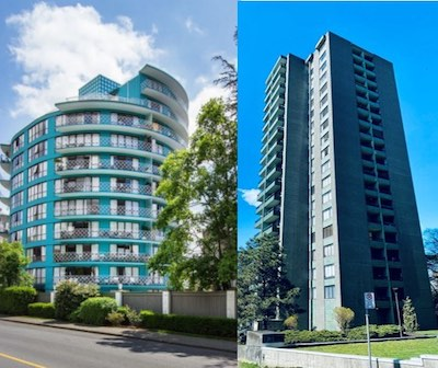 IMAGE: Starlight Investments has acquired a total of five buildings, comprising 465 apartments, in Vancouver and West Vancouver. (Courtesy Starlight Investments)