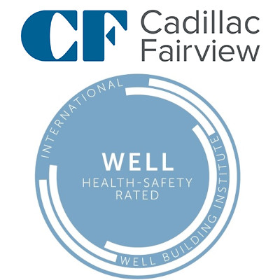 Cadillac Fairview, CF, WELL Health-Safety Rating, TD, Toronto Dominion Centre