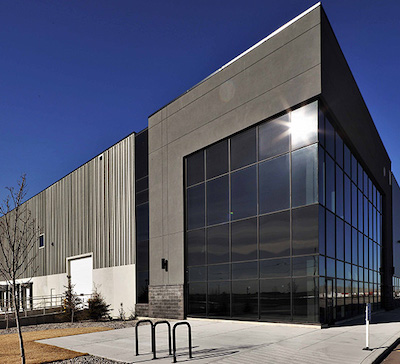 IMAGE: Skyline Commercial REIT has acquired this almost 500,000 sq. ft. distribution centre at 6600 72nd Ave. S.E., in Calgary. (Courtesy Skyline)