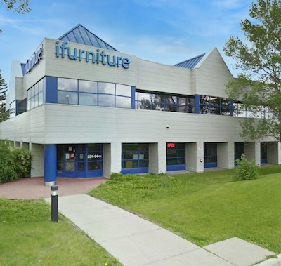 IMGE: A portfolio of five light industrial buildings has been sold by Manulife in Edmonton. (Courtesy CBRE)