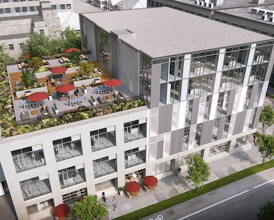 IMAGE: Union Allied Capital is constructing 1308 Adanac, a strate industrial and commercial building, in Vancouver's east side. (Courtesy Union Allied)