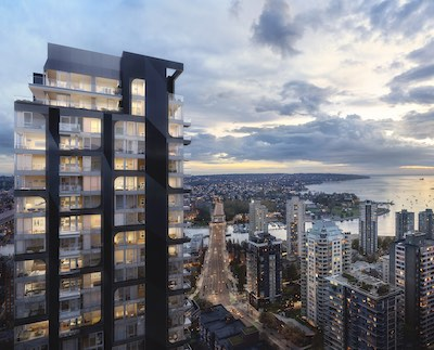 IMAGE: The successful sale of over 100 presale units at 2 Burrard Place in downtown Vancouver is an encouraging sign for the market, observers say. (Courtesy Reliance / Pattison)