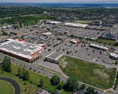 IMAGE: West Bowmanville Shopping Centre is one of four retail facilities in Durham Region, east of Toronto, which have been acquired by Strathallen. (Courtesy Strathallen)
