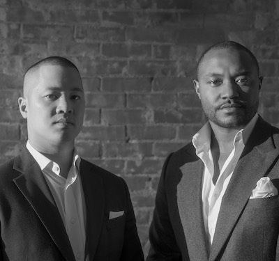 IMAGE: Aaron Yick, left, and Thaine Carter are the co-founders of BlackTusk Group. (Courtesy BlackTusk)