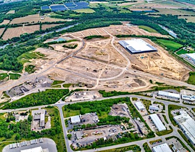 IMAGE: Granite REIT has acquired a 92-2-acre industrial development site at Brantford's northwest industrial park near the Hardy Rd.-Oak Park Rd. intersection. (Courtesy Granite/Business Wire)