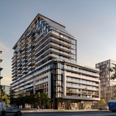 IMAGE: The Arte Residences in Mississauga is one of Emblem Development's ongoing projects. (Courtesy Emblem)