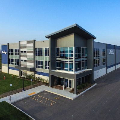 IMAGE: NYX Capital and Bluebird are preparing to build their first self-storage facility in Montreal. (Courtesy NYX Capital)