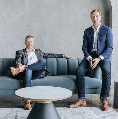IMAGE: Adam Batstone, left, is the CEO of Two Sevens Capital. Jonathan Olynick is managing partner and head of real estate. (Courtesy Two Sevens)