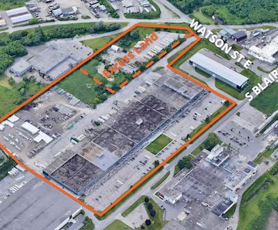 IMAGE: This South Blair Road industrial property in Whitby has been acquired by Soneil Investments. (Courtesy Soneil)