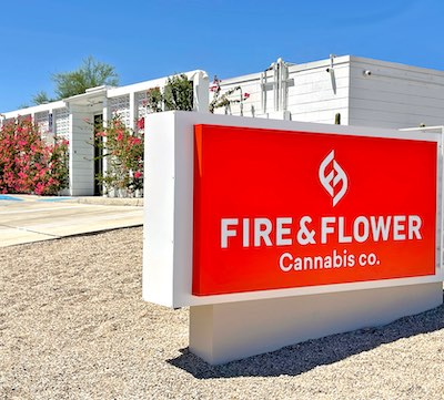 IMAGE: Retailers are finding more property owners receptive to hosting cannabis stores in Canada, according to Fire and Flower. (Courtesy Fire and Flower)