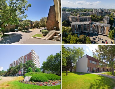 IMAGE: CAPREIT has acquired the remaining 50 per cent interest in a portfolio of 787 GTA apartments and townhouses. (Courtesy CAPREIT)