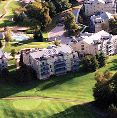IMAGE: Deerhurst Resort in Huntsville is being sold by Skyline to Freed Corp. (Courtesy Skyline)