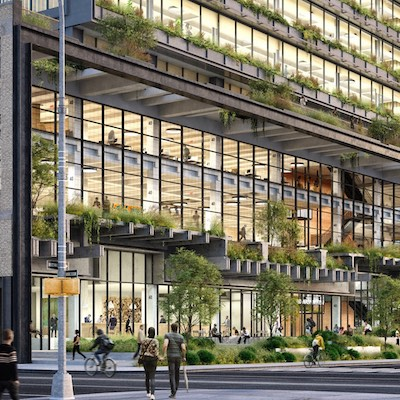 IMAGE: St. John's Terminal in New York City. (Courtesy Oxford Properties)