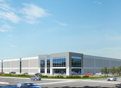 IMAGE: Triovest is constructing and marketing two industrial buildings along Ironside Dr., in Brampton. (Courtesy Triovest)