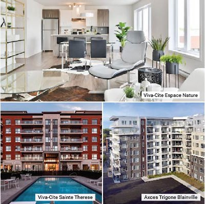 IMAGE: Centurion Apartment REIT is acquiring a portfolio of 30 apartment properties in the Greater Montreal Area. (Courtesy Centurion)
