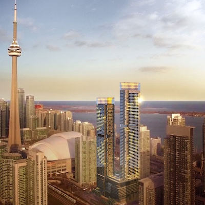"""IMAGE: Concord Canada House is considered the """"crown jewel"""" of the massive CityPlace development in downtown Toronto, Concord Pacific says. (Courtesy Concord Pacific)"""