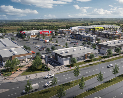 Highstreet at Cornerstrone will be 139,000 square feet, and is scheduled to open in Spring 2023. (Courtesy Anthem Properties Group Ltd.)