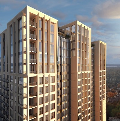 IMAGE: Le Sherbrooke is a downtown Montreal condominium development by Broccolini. (Courtesy Broccolini)