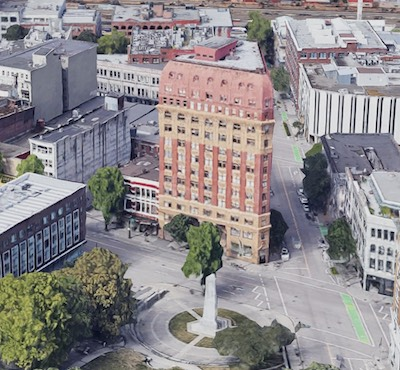 IMAGE: The Dominion Building at 207 West Hastings Street in Vancouver. (Google Maps)